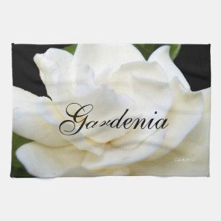 2 Pure White Gardenia Kitchen Towel