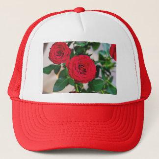 2 roses trucker hat