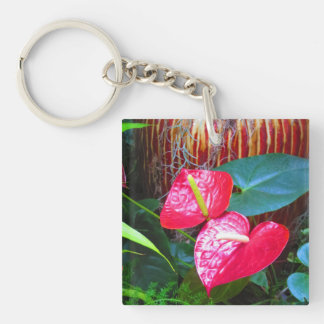 2 side Printed DIY easy add or replace photo image Keychain