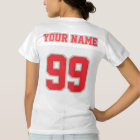 2 Side RED SILVER GRAY WHITE Women Football Jersey