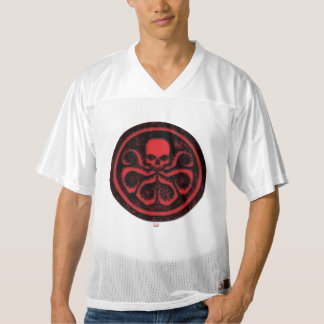 2 Sided Avengers Hydra Logo | Add Your Name Men's Football Jersey