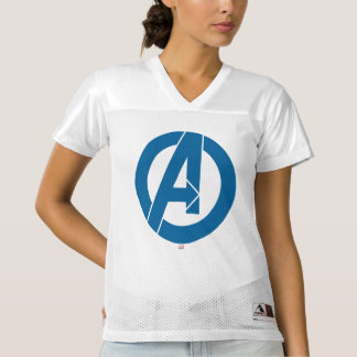 2 Sided Avengers Logo | Add Your Name Women's Football Jersey