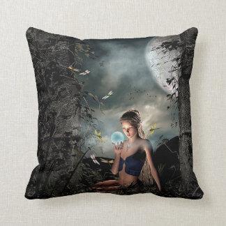 2 Sided Fairytale Mystical Ocean Pillow
