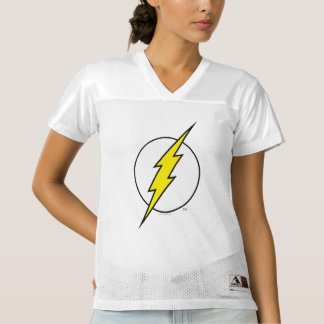 2 Sided Flash Lightning Bolt | Add Your Name Women's Football Jersey