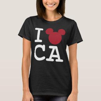 2 Sided I Love Mickey | California Family Vacation T-Shirt