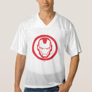 2 Sided Invincible Iron Man | Add Your Name Men's Football Jersey