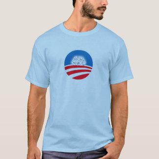 2 sided Pro-Obama D&D crowd (blue) T-Shirt