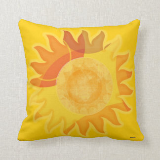 2 Sided Sunshine Throw Pillow