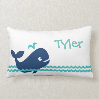 2 Sided Whale Pillow