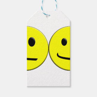 2 Sides of the Same Face Gift Tags