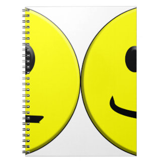 2 Sides of the Same Face Notebooks