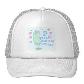 2 Straws and a Milkshake Trucker Hat