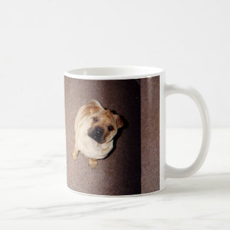2 tan Shar-Pei_puppies Coffee Mug