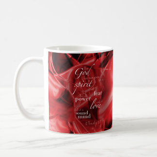 2 Timothy 1:7 Coffee Mug