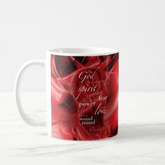 2 Timothy 1:7 Coffee Mug
