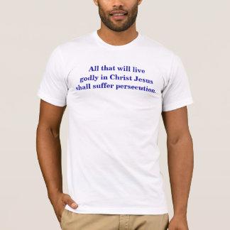 2 Timothy 3:12, 14-15 T-Shirt