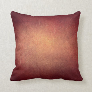 2 Tone Color Throw Pillow Grunge Green and Red