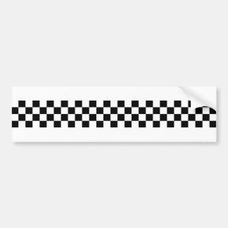 2-Tone Ska Checks Bumper Stickers
