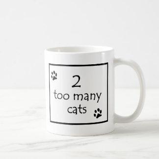 2 Too Many Cats Logo Mug