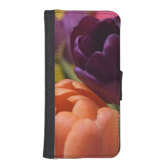 2-Tulips iPhone SE/5/5s Wallet Case