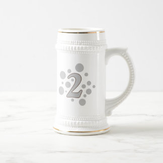 2-Two 18 Oz Beer Stein