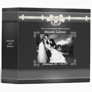"2"" Wedding Photo Album Template Planer Binder"