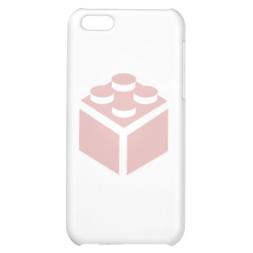 2 x 2 Brick by Customise My Minifig iPhone 5C Covers