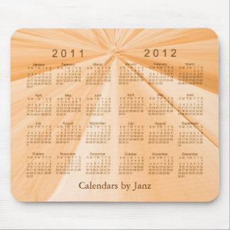 2 Year Calendar 2011-2012 Mouse Pad