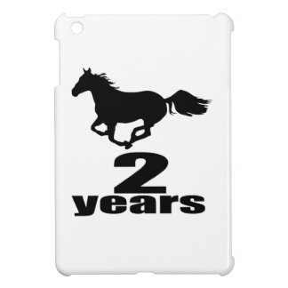 2 Years Birthday Designs Cover For The iPad Mini