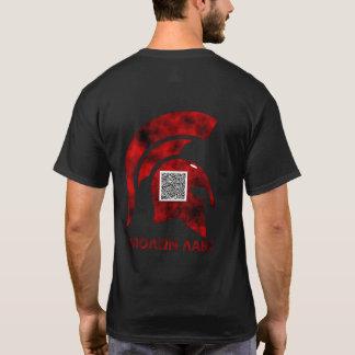 2A QR Coded Spartan Fire T-Shirt
