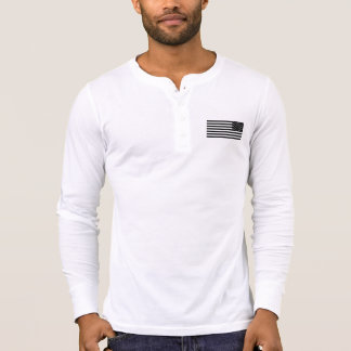 2A (Second Amendment) Est. 1776 Distressed Henley T-Shirt