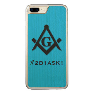 #2B1ASK1 CARVED iPhone 8 PLUS/7 PLUS CASE