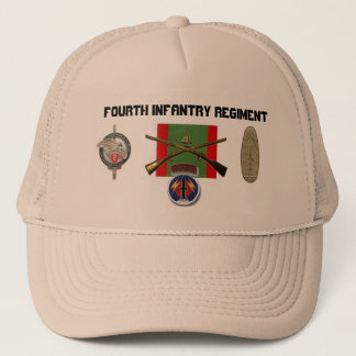 2BN 4th Infantry Regiment Pershing Trucker Hat