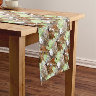 2CUTE HORSE FOAL BABY PONY SHORT TABLE RUNNER