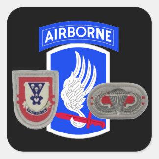 2D BATTALION 503D INFANTRY 173RD AIRBORNE STICKERS