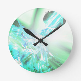 2dsqrLst3 Wall Clocks