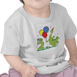 2ème anniversaire de Dino T-shirts