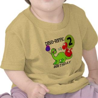2èmes T-shirts et cadeaux d'anniversaire de dinosa