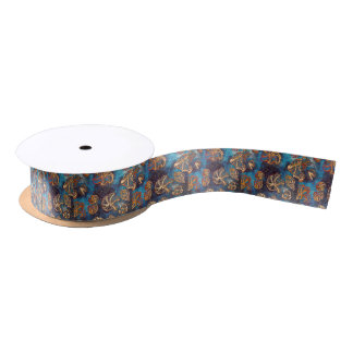 2Fine Autism Artist Shells Satin Ribbon