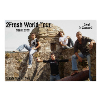 2Fresh World Tour Poster