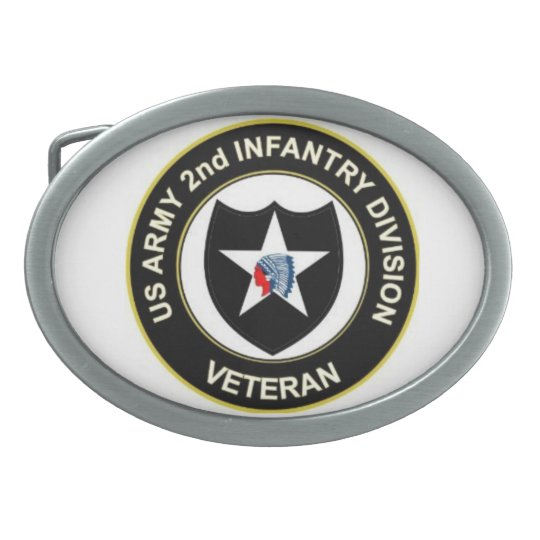 2ID Veteran Belt Buckles