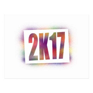 2k17 2017 postcard