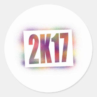 2k17 2017 round sticker