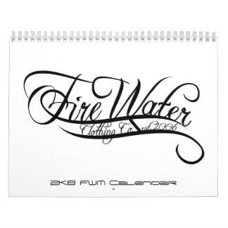 2K8 Fire Water Calendar