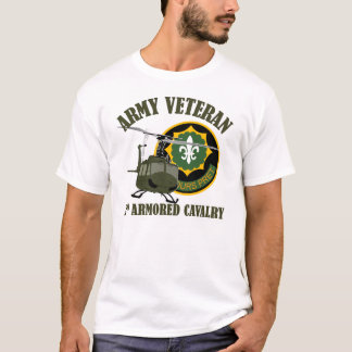 2nd ACR Vet - UH-1 Huey T-Shirt