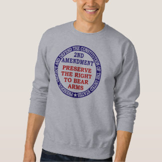 2nd Amendment_1_8 Sweatshirt
