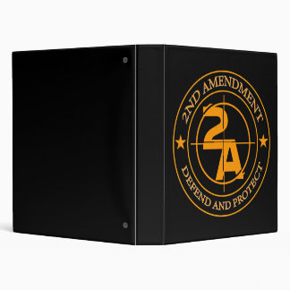 2nd Amendment 3 3 Ring Binder