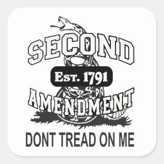 2nd Amendment Bear Arms Gadsden Flag Sticker USA