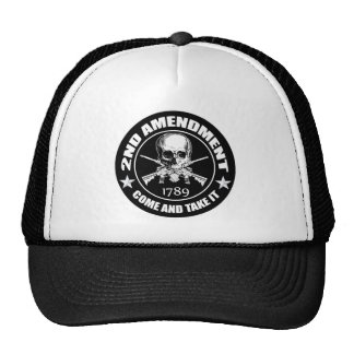 2nd Amendment Come And Take It Skull And AR's Trucker Hat