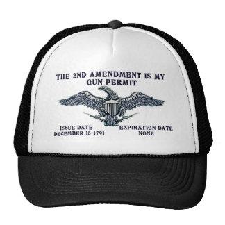 2ND AMENDMENT GUN PERMIT.png Trucker Hat